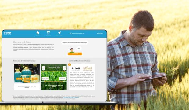 Application d'aide à la décision pour les agriculteurs