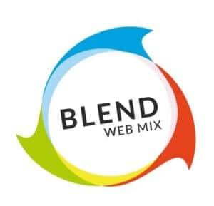 Logo Blend web Mix Conférence