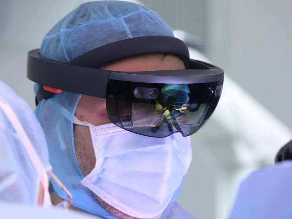 HoloLens - Chirurgie hôpital Avicenne