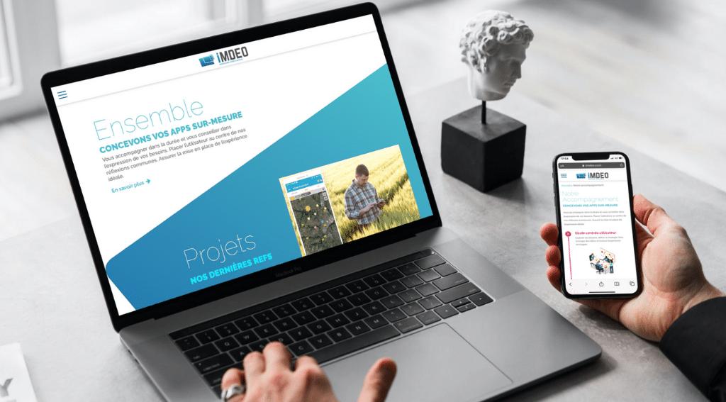 Après l'étude UX, enfin le nouveau site web